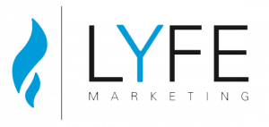 Lyfe Marketing social media marketing agency logo