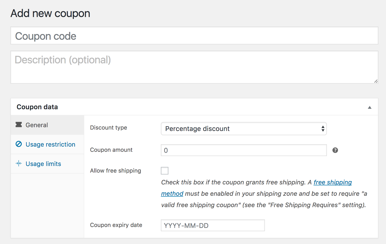 how to generate a coupon code in woocommerce