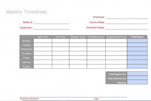 6 Free Timesheet Templates You Really Need