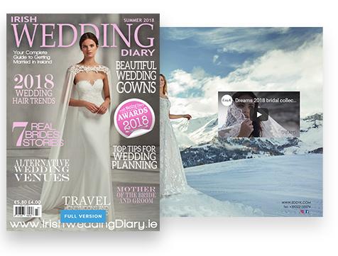 irish wedding diary published on the joomag platform