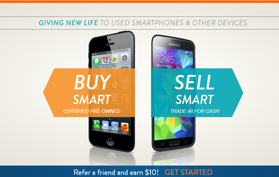 gazelle's graphic urging users to trade their devices in