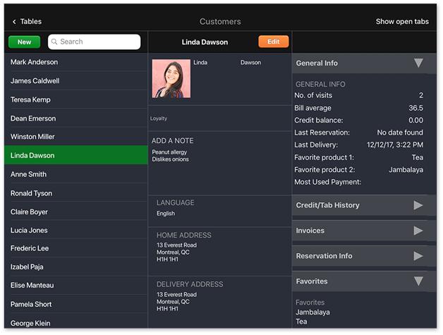 screenshot of lightspeed's dashboard