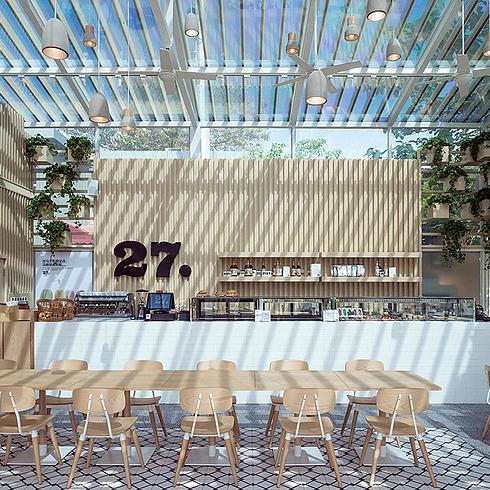eco-friendly coffee shop