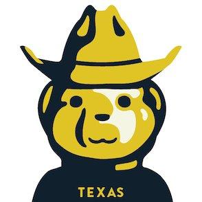 texas honey bee farm logo