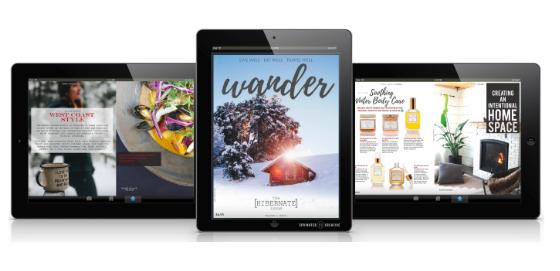 wander digital magazine - how to create a digital magazine