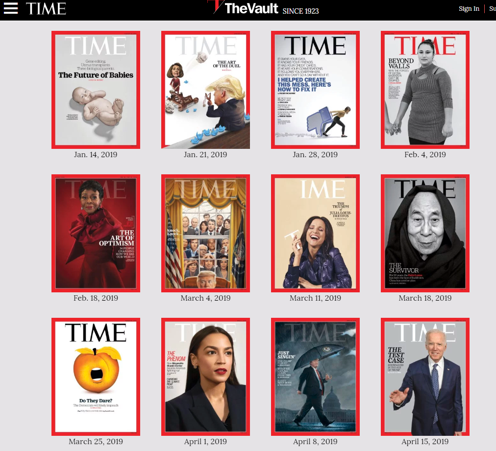 time - how to create a digital magazine