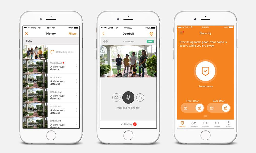 vivint mobile app