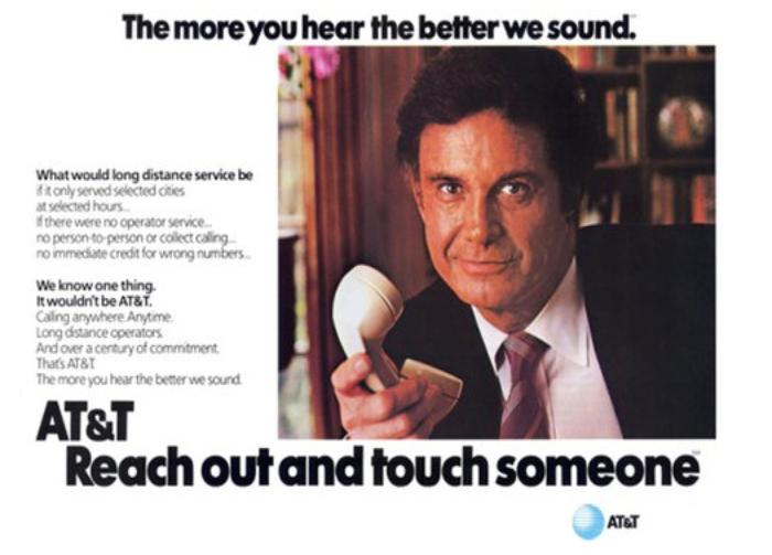 AT&T's slogan