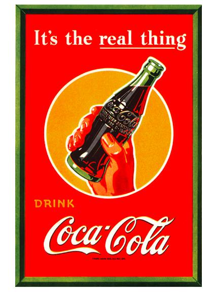 Coca-Cola's slogan