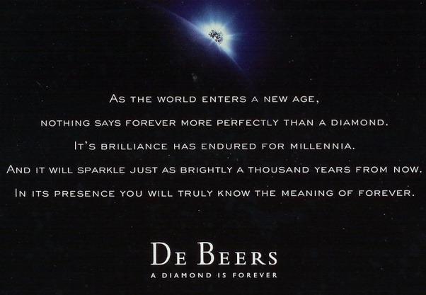 De Beers' slogan - best slogans