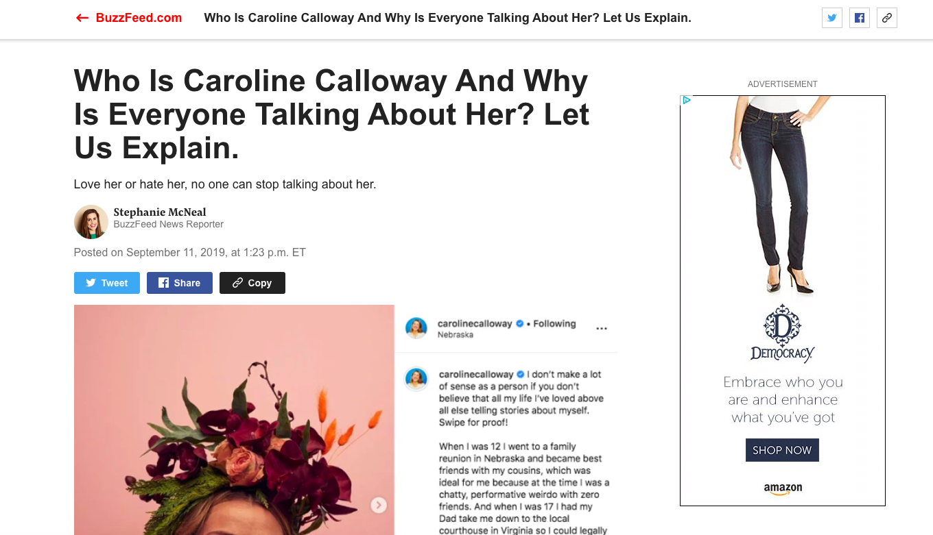 buzzfeed article screenshot