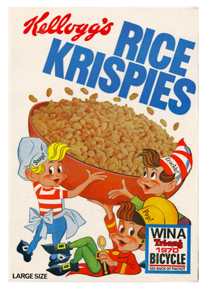Rice Krispies' slogan