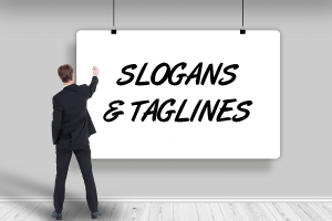 Slogans and Taglines