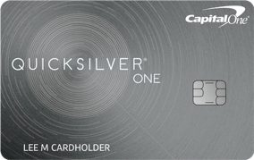 Capital One QuicksilverOne Rewards credit card