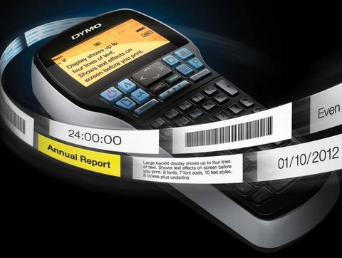promotional photo of The Dymo LabelManager 420P