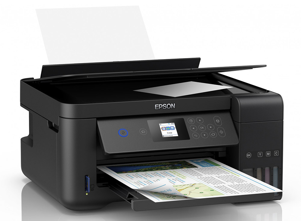 promotional photo of The Epson Expression ET-2650 inkjet printer