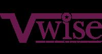 V Wise logo