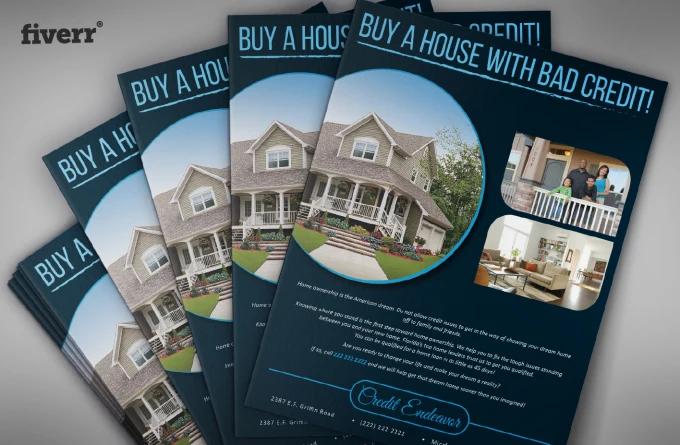 real estate graphic design