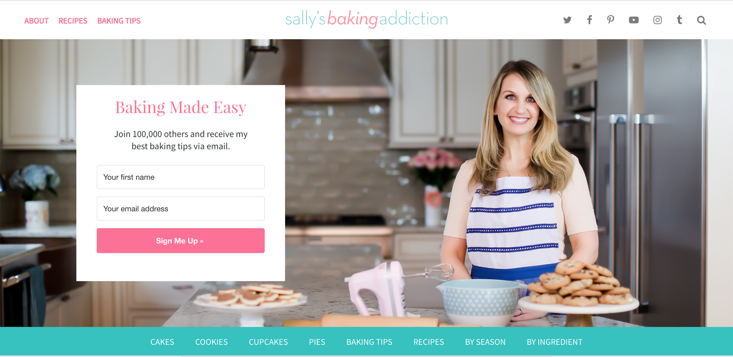 sally's baking addiction blog