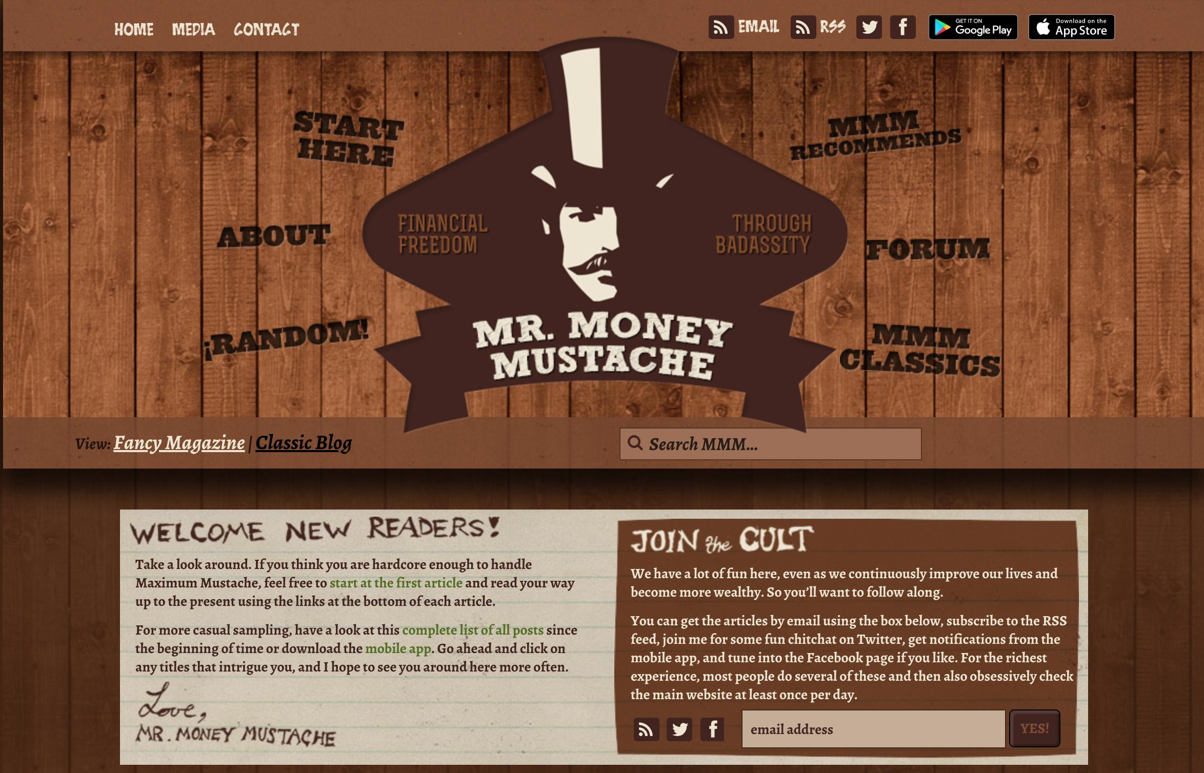 mr. money mustache blog