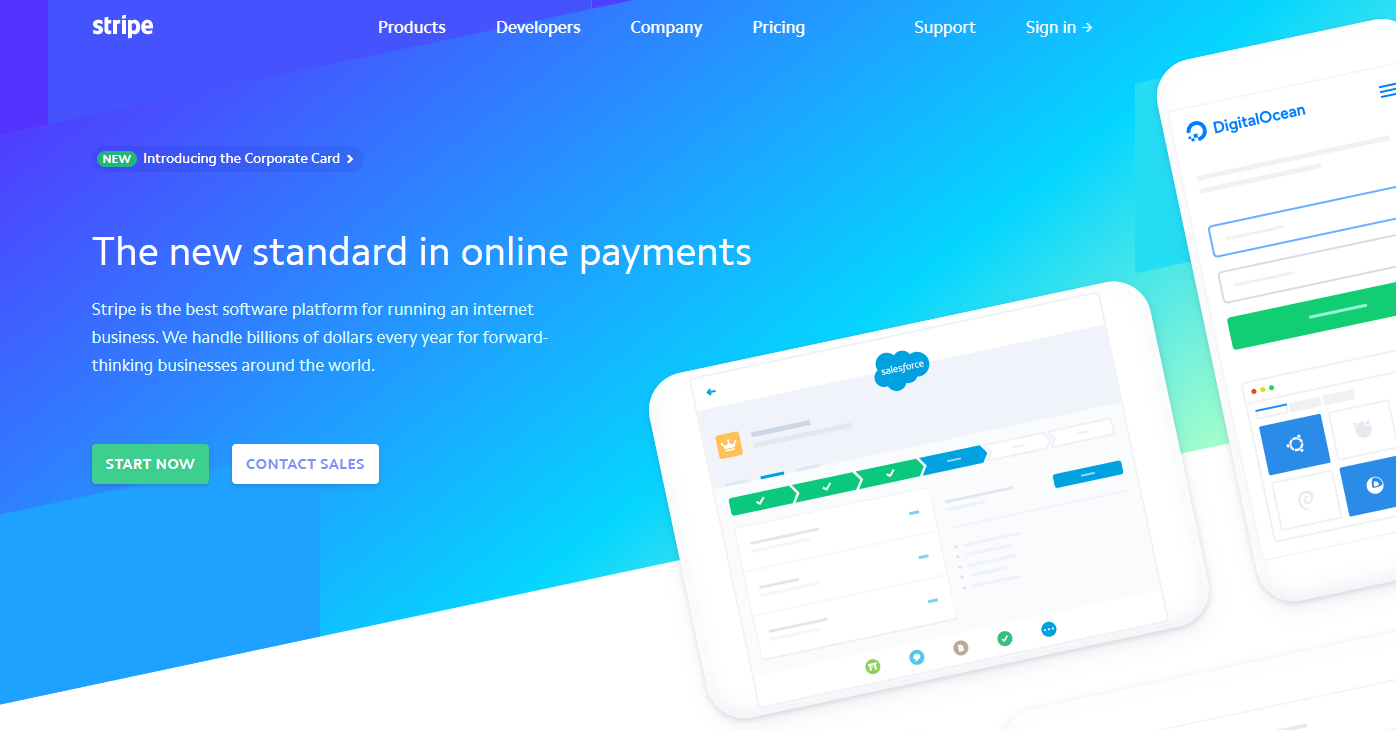 stripe payment processing gateway