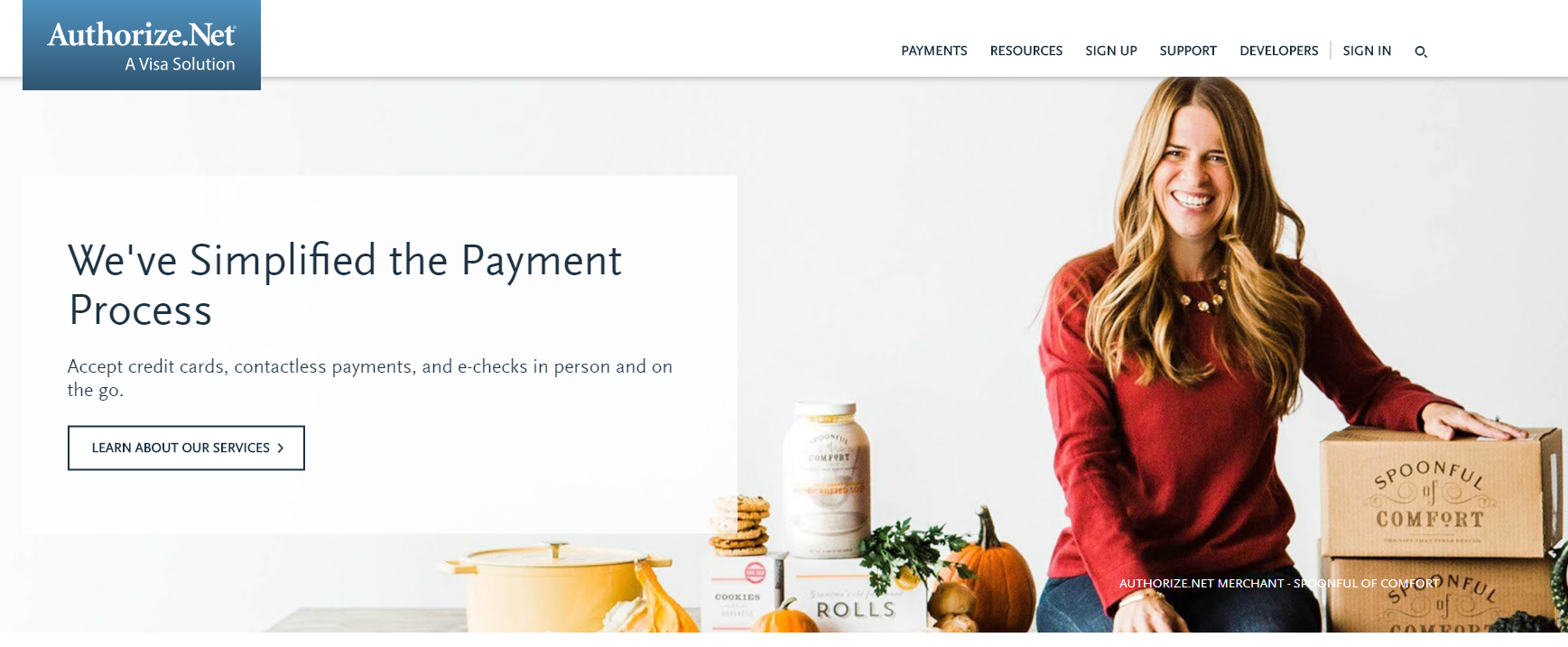 authorize.net payment gateway
