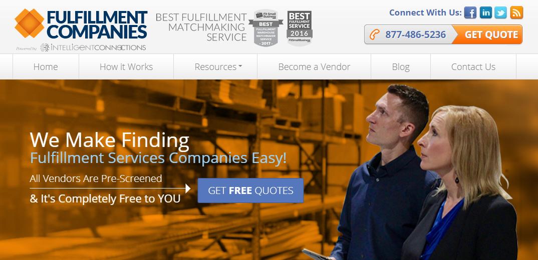 Fulfillment warehouse fulfillment vendors