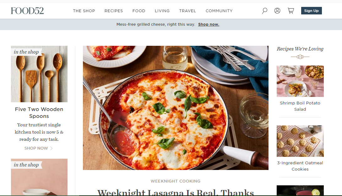 food52 blog