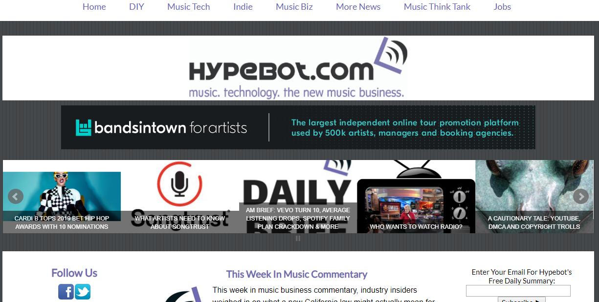 hypebot blog