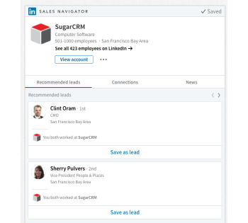 best crm for linkedin
