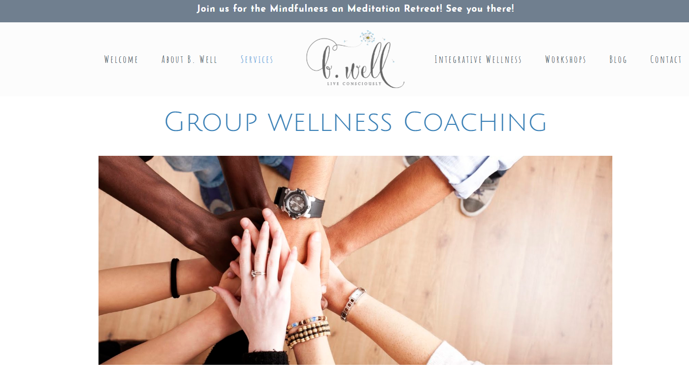 B. Well, Live Consciously group coaching