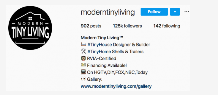 moderntinyliving - instagram blog