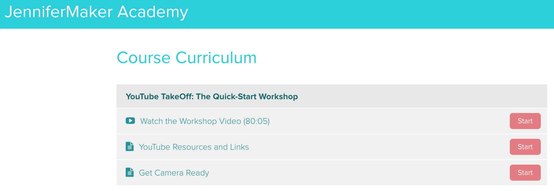 YouTube Takeoff: The Quick-Start Workshop