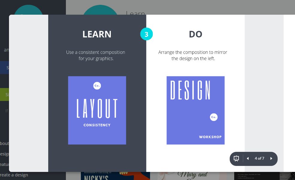 Canva design tutorials