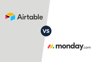 Airtable and monday.com logo