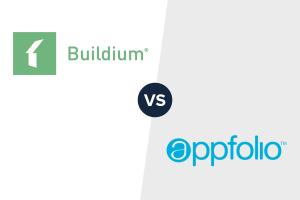 Buildium vs Appfolio Logo