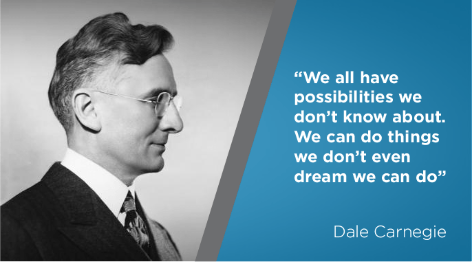 dale carnegie quote on self confidence