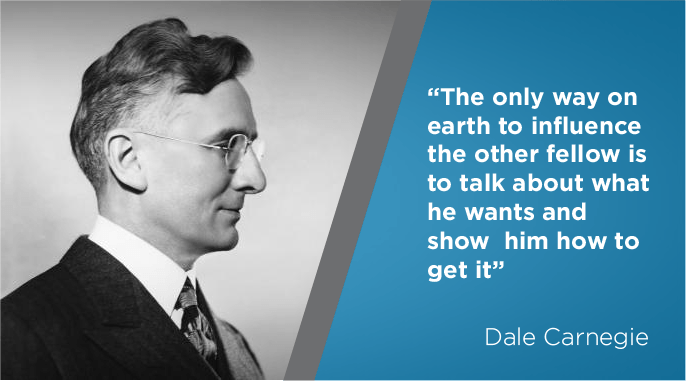 dale carnegie on salesmanship