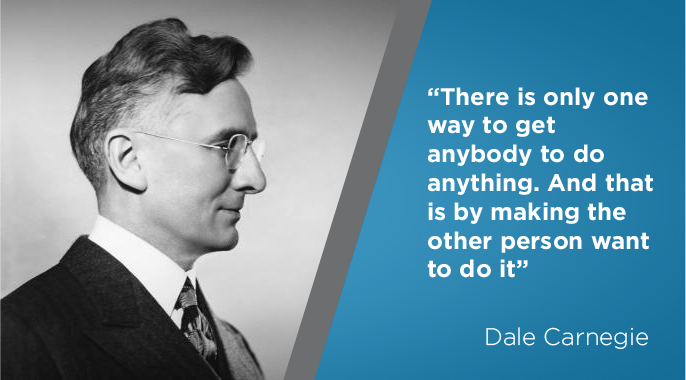 dale carnegie on business leadership