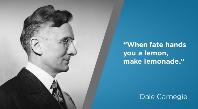 dale carnegie on personal motivation and success