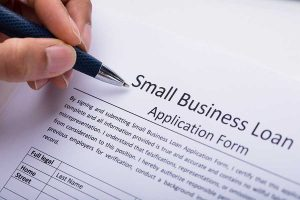 small business form application form
