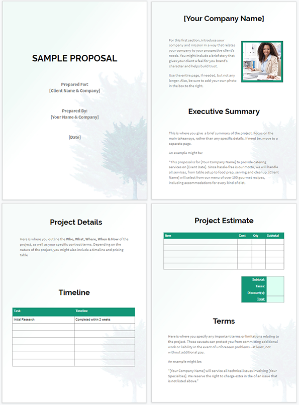 Free Business Proposal Templates That Win Deals