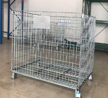 Collapsible Metal Storage Box
