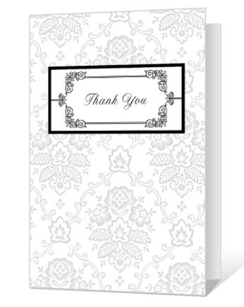 American Greetings printable thank you card