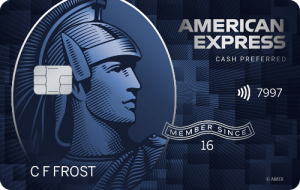 American Express Blue Cash Preferred Card image
