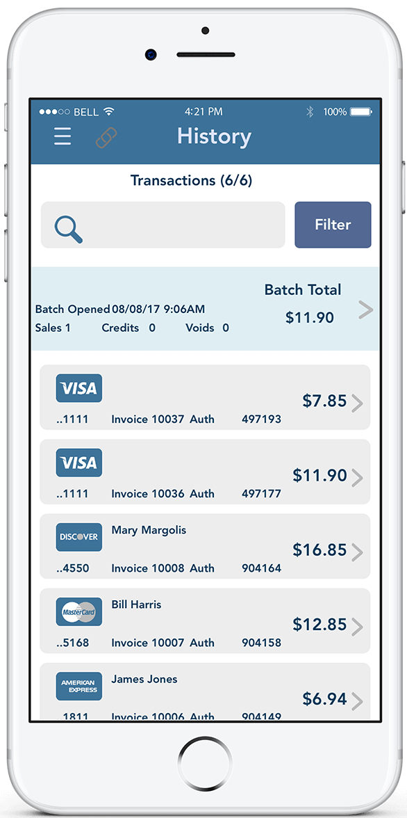 EMS plus features mobile view image