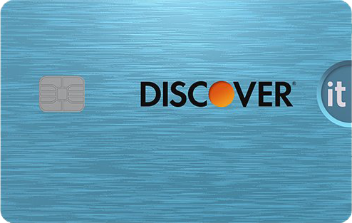 Discover it Cash Back card image