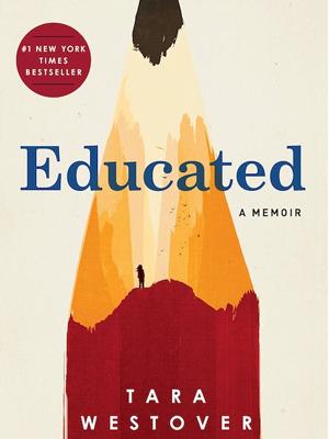 The cover design for Tara Westover's New York Times bestseller