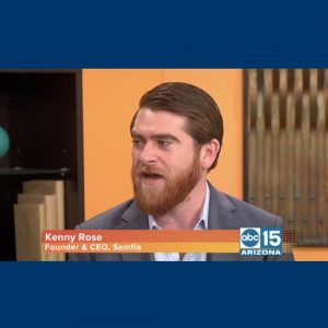 Kenny Rose on abc Arizona channel 15 news