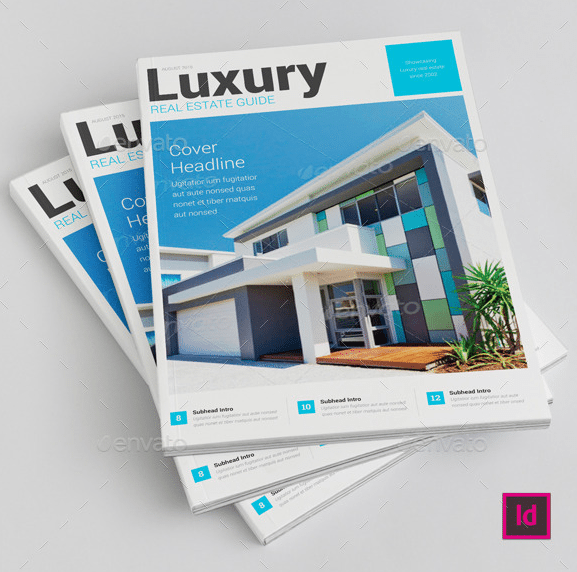Luxury Real Estate Brochure by R_evensen